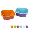 Dish Pan 13.5 Square X 5h 6 Colors In Pdq