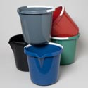 Bucket W/plastic Handle & Spout 3 Gallon 6 Assorted Colors