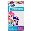 Valentine Cards Deluxe W/tattoo 32ct My Little Pony *2.99*