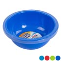 Bowl 7in Round 28 Oz 3pk 4 Colors In Pdq #7 Bowl