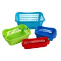 Baskets 4 Sizes 4 Colors In White Pdq
