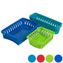 Baskets 3 Sizes 6 Colors In Pdq 3pk, 3pk, 2pk