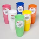 Tumblers 10 Oz 6pk 6 Colors In Pdq
