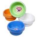 Bowl 4pk 24oz 6in Round 4 Colors In Pdq Utility Bowl #7