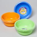 Bowl 7.5 Inch Round 48 Oz 2pk 4 Colors In Pdq Utility Bowl #8