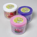 Food Storage Container Round 3pk Flower Design 3 Colors In Pdq #keep Fresh Cont 80,81,82