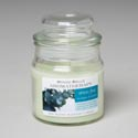 Candle Scented Apothecary Jar Mondo Bello Stress Free 3 Oz In Apothecary Jar W/domed Lid