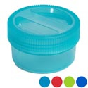 Food Storage Container 26 Oz W/screw Top Lid 6 Colors In Pdq