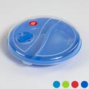 Microwave Divided Plate/cover Set W/vent In Pdq # 3010 #3010