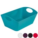 Storage Basket Rect With Handles .5 X 9 X 5.5 -5 Colors