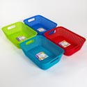 Basket Rectangular 4 Colors Pdq 11.4 X 7.8 X 3.5 #st3936