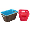 Basket Lg Rect 4 Colors In Pdq 11.2 X 7.8 X 5.9  St-3938 St-3938