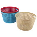 Basket Round 4 Colors In Pdq 10.6 X 6.2   St-3940 St-3940