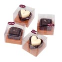 Candles Chocolate Scented In 24 Ct Pdq