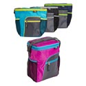 Cooler 12 Can W/shoulder Strap Insulated 4 Asst Colors See N2 Collapsible # C4222