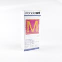 Latch Hook Kit 12x12 Wonderart Monogram Pink - Boxed *12.99*