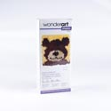 Latch Hook Kit 12x12 Wonderart Shaggy Teddy - Boxed *12.99*