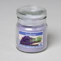 Candle Scented Apothecary Jar W/lid 3 Oz Lavender Bouquet