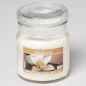 Candle Scented Apothecary Jar W/lid 3 Oz Vanilla Bean