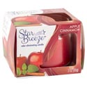 Candle Jar 3oz Apple Cinnamon Star Breez Odor Eliminating