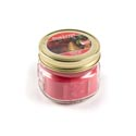 Candle 3 Oz Pomegranate & Pear Mason Jar Star Lytes