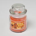 Candle Scented Orange Spice 3oz Apothecary Jar Made In Usa