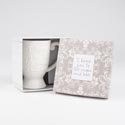 Coffee Mug 14oz Embossed Gift Bx I Love You To Moon & Back*14.00* Dolomite # Qmb4-16382