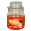 Candle Scented Apothecary Jar Farmhouse Pumpkin 3 Oz