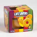 Candle Scented Lifesaver Pineapple 3 Oz Boxed #sell In Usa Only#