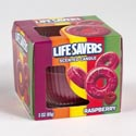 Candle Scented Lifesaver Raspberry 3 Oz Boxed #sell In Usa Only#