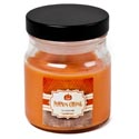 Candle Scented Mini Apothecary Jar 3 Oz Pumpkin Carving