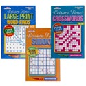 Puzzle Digest Leisure Time 114pg In 144 Ct Floor Display 3 Asst Ppd $3.95 Made In Usa