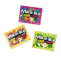 Candy Mike & Ike Sourlicious 3 Asst Flavors 3.6 Oz Floor Dspl