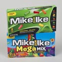 Candy Mike & Ike Orig And Mega Mix 5 Oz Theater Box In Flr Dspl #709704919900