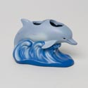 Toothbrush Holder Dolphin Sea 3d Sculpted Resin Hand Painted # M1035600120004