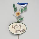 Garden Stake Bluebird Metal 42in High (9.00) # 51009