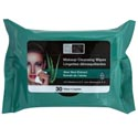 Facial Makeup Cleansing Wipes 30ct Aloe Vera 4-12pc Pdq's