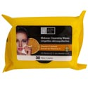 Facial Makeup Cleansing Wipes 30ct Vitamin C 4-12pc Pdq's