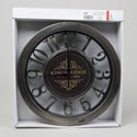 Clock 12inch Distressed Look Numbers White Boxed *7.99*