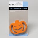 Cookie Cutter 3d Pumpkin Carded