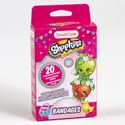 Bandages Kids 20ct Shopkins Plastic Strips Boxed