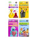 Sesame Street Flashcards 4 Assorted In 2 Pdq's