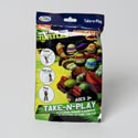 Take N Play Teenage Ninja Turtls Coloring Boards,markers,stickers And Fun Pad