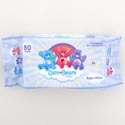Baby Wipes Care Bears 80 Sheets Unsented W/aloe & Vitamin E