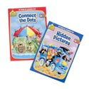 Activity Books School Zone #4 96pg Hidden Pics/connect Dots Pdq 2 Assorted