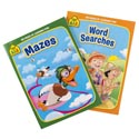 Activity Books School Zone #5 96pg Mazes/word Search 2 Assorted Pdq