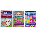 Sudoku Puzzle Book Collection 2 Asst 120pc Floor Disp $4.95 Pp 98pg Made In Usa