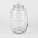 Canister Glass 169 Oz W/lid 12.25in High Sedona *29.99*