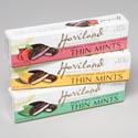 Candy Thin Mints 3 Asst 3.9 Oz Box Haviland 72ct Display Orange, Raspberry, Orriginal