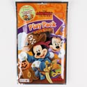 Play Pack Mickey Halloween Crayons,stickers,fun Size Book